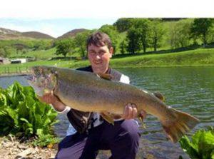 North Wales record brown 17-5ib
